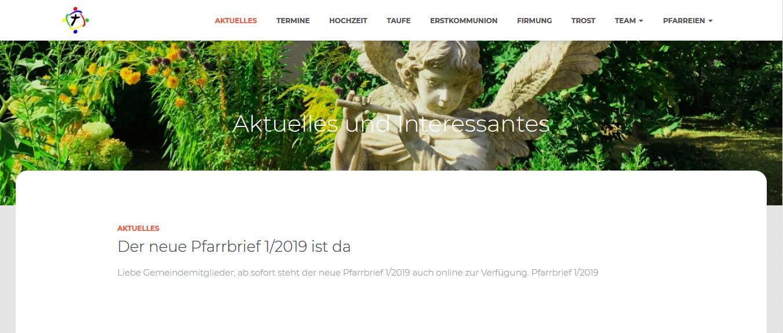 Header neue Website